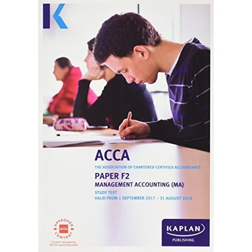 F2 Management Accounting - Complete Text