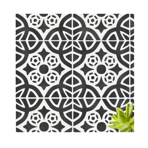ALMERIA Tile Furniture Wall Floor Stencil for Painting
