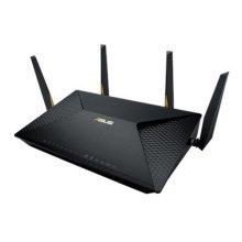 Asus (BRT-AC828) AC2600 (800+1734) Wireless Dual Band GB VPN Router, Dual-WAN, M.2 Slot, MU-MIMO