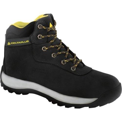 Delta Plus LH842 Nubuck Leather Hiker Safety Work Boots Black (Sizes 7-12)