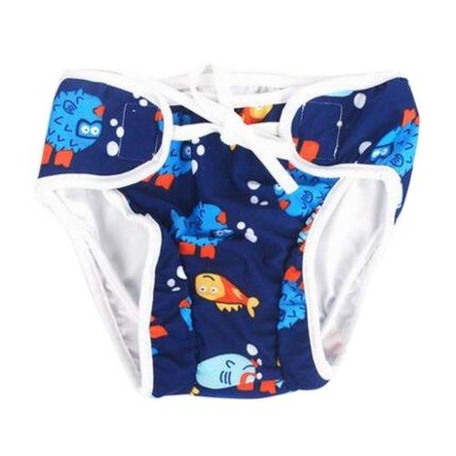 [Fish] Reuseable Baby Swim Diaper Lovely Infant Swim Nappy Swimwear