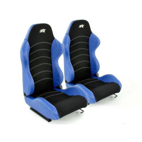 Sportseat Set Vancouver black/Blue