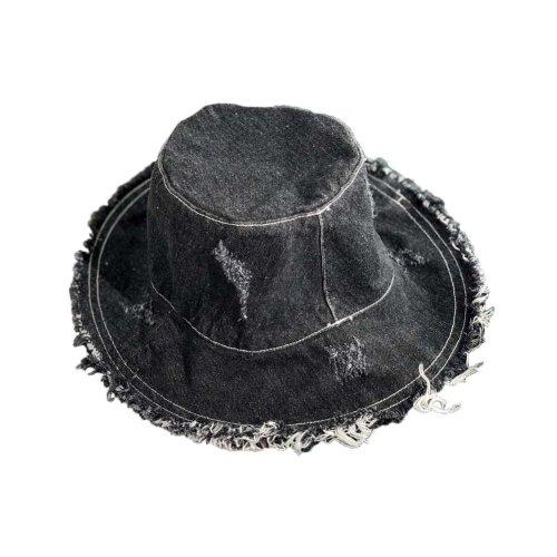 Womens Sun Hat Casual Foldable Sun Visors Girls Sun Protection Wide Brim Hats, Black