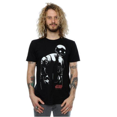 Star Wars Men's Rogue One K-2SO T-Shirt
