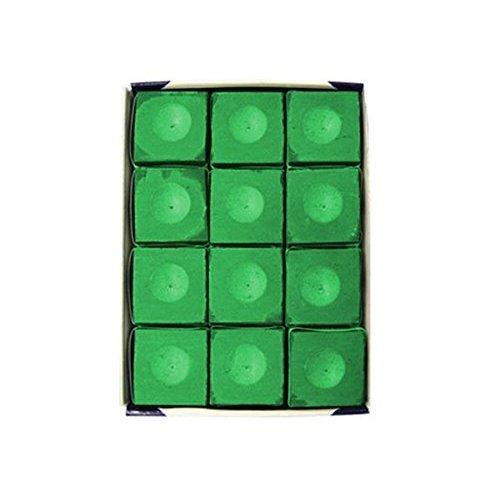 Silver Cup SC 12 TOURNAMENTGREEN Chalk Tournament Dozen Box Green