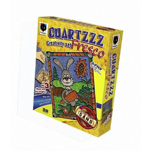 Elf408003 - Fantazer - Quartz Fresco Sand Picture - Hare and His Trophy