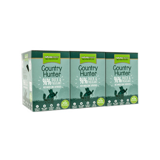 Country Hunter Cat Food Pouch Duck & Pheasant 3 x (6 x 85g)