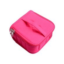 Essential Oil Carrying Case Holds 13 Slots Best For 15/115/ ml(rose Red)