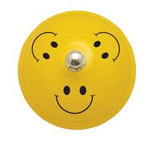 Ashley Productions Decorative Smile Faces Call Bell, 3""