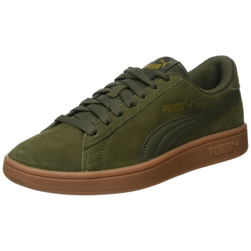 Puma Unisex Adult Smash V2 Low-Top Sneakers, Grey (Forest Night-Forest Night 19), 8 UK (42 EU)