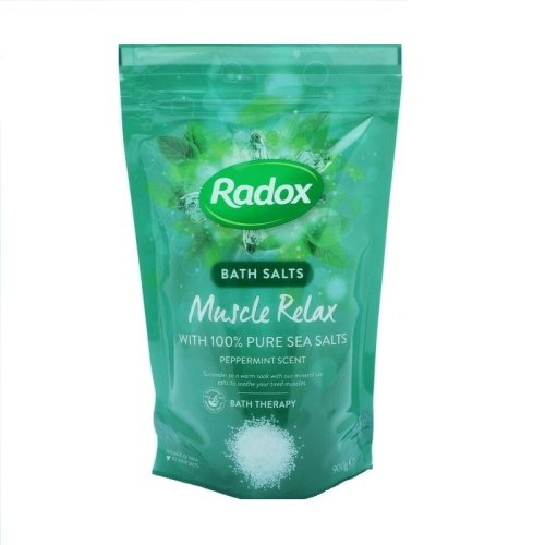 Radox Bath Salts Muscle Relax Peppermint Scent 900g