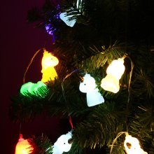 Battery Powered 1.8M 10LEDs Unicorn Shaped Indoor Lanterns Novelty Fairy String Light For Christmas