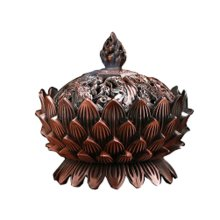 Sandalwood Incense Burner Stove Vaporizer Tea Room Temple Ornaments Auspicious