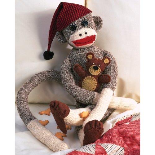 Peejay Sock Monkey Kit-Peejay