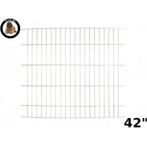 Ellie-Bo Divider for Dog Crate Cage, X-Large, 42-Inch, Gold