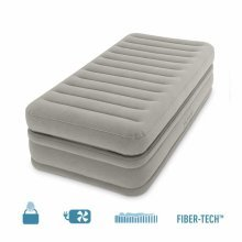 Intex 64444 Inflatable Single Bed with Pump Extra Comfort