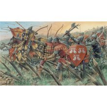 ENGLISH KNIGHTS AND ARCHERS (100 YEARS WAR) - SOLDIERS 1:72 - Italeri 6027