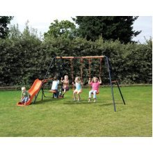 Hedstrom Europa Double Swing, Glider and Slide combination