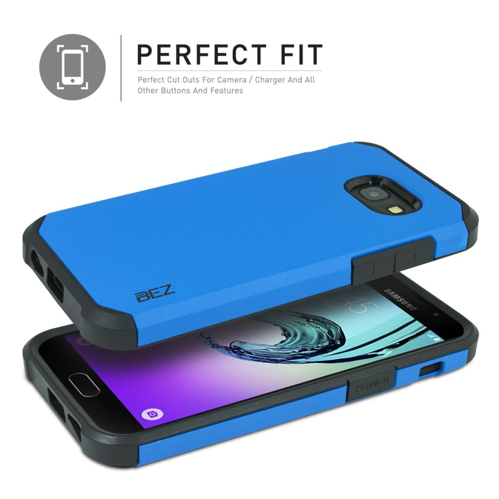 more photos 1d683 41e92 Samsung Galaxy A5 2017 Case, BEZ® Shockproof Case Cover, Shock Absorbing  Case Best Heavy Duty Dual Layer Tough Cover for Samsung Galaxy A5 2017 -...