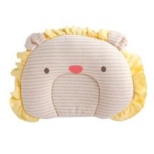Cute Sleep Pillow For For 0-1 Years Cotton Prevent Flat Head Pillows, Lion