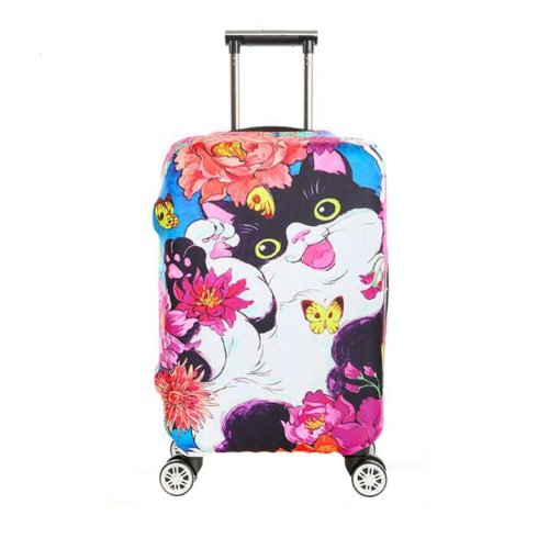 Cute Elastic Luggage Cover Dustproof Protector Suits for 18-20 Inch Luggage