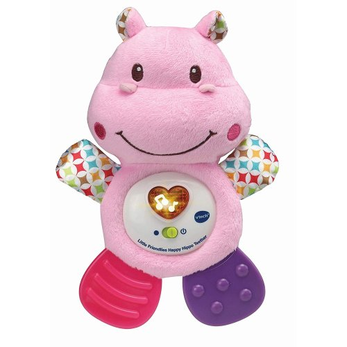 Vtech Little Friendlies Happy Hippo Teether Pink