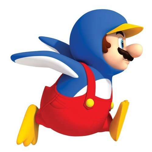 Roommates 688Slm Penguin Mario Peel amp Stick Giant Wall Decal