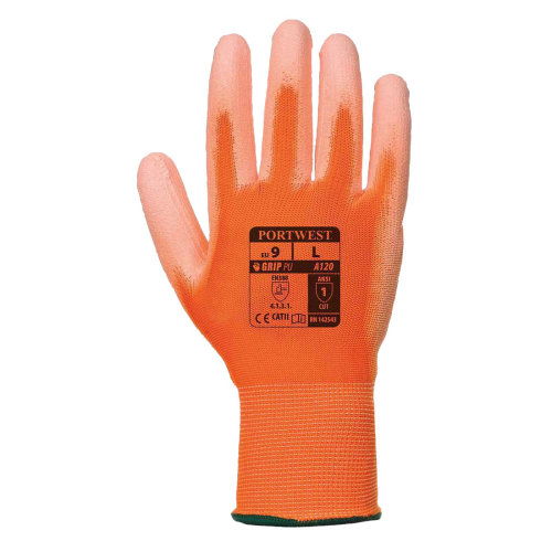 sUw - Superb abrasion and tear resistance PU Palm Glove (1 Pair Pack)