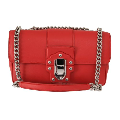 1d96dacbdc Dolce & Gabbana Red Leather LUCIA Messenger Bag on OnBuy