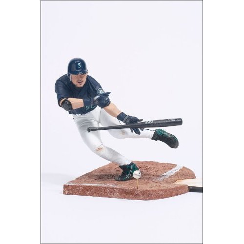 McFarlane Toys MLB Sports Picks Series 4 Action Figure Ichiro Suzuki Blue Jersey