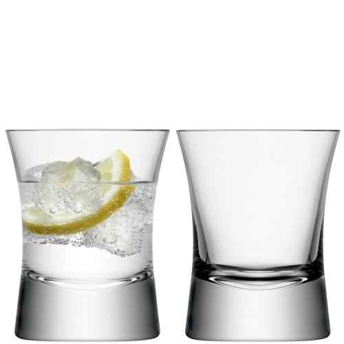LSA International 290 ml Moya Tumbler, Clear (Pack of 2)