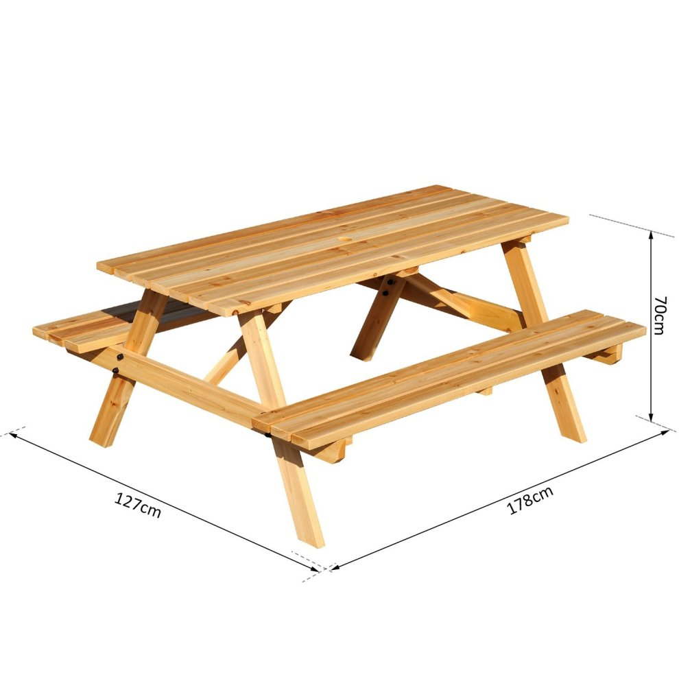 guxrkl bench com amazon in outsunny picnic convertible outdoor garden table dp