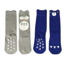 2 Pair Cute Baby's Cotton Tube Stockings Anti-mosquito Summer Thin Socks-No.12