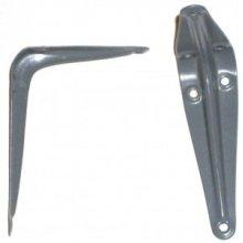 225 x 175mm Grey Shelf Bracket - London Grey Shelf Shelving Tools Bracket - 225x 175mm New