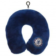 Chelsea Travel Neck Pillow -  neck chelsea cushion fc travel pillow official gift football licensed