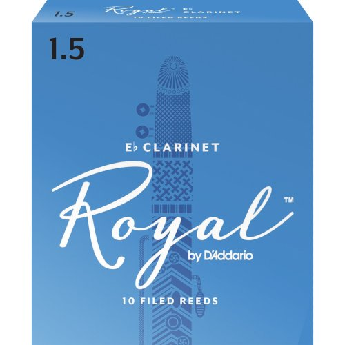 Rico Royal 1.5 Strength Reeds for Eb Clarinet (Pack of 10)