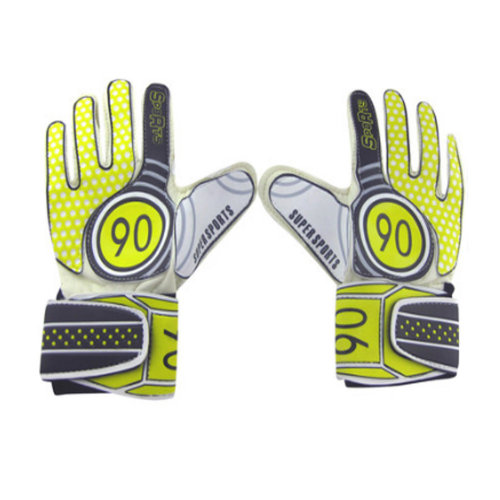 Breathable Adults Football Receiver Gloves, (Yellow/Black, M)