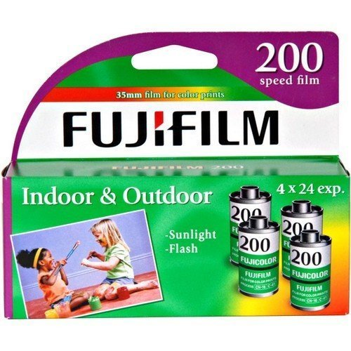 Fujifilm Fujicolor 200 Speed 24 Exposure 35mm Film 4 Pack Discontinued by Manufacturer
