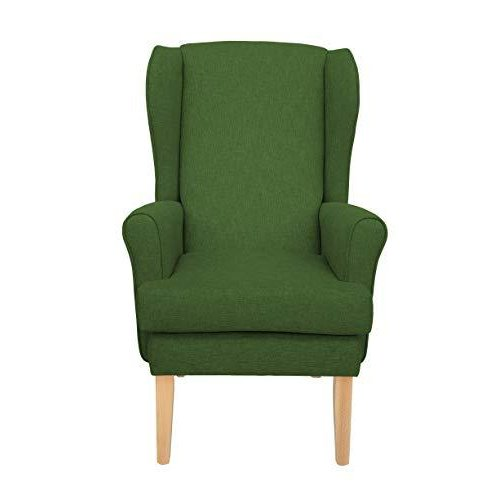 MAWCARE Highland Orthopaedic High Seat Chair - 21 x 21 Inches [Height x Width] in High Green (lc21-Highland_h)