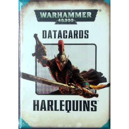 Games Workshop - Warhammer 40,000 - Datacards: Harlequins