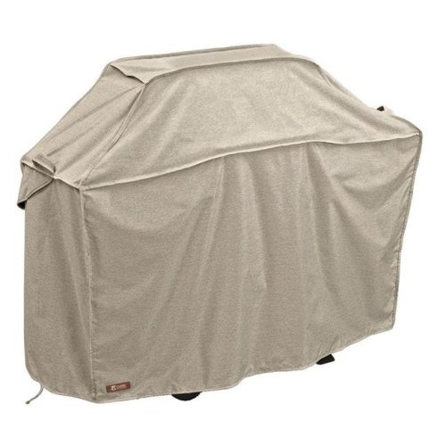 Classic Accessories 55-663-066701-RT Montlake Xx-Large Bbq Grill Cover, Grey - 72 in.
