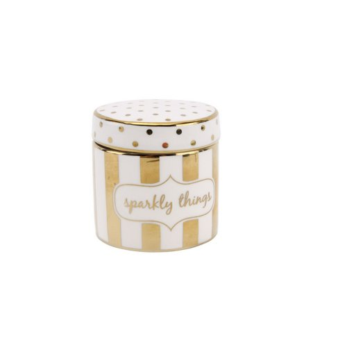 CGB Giftware Absolutely Fabulous Sparkly Things Trinket Pot