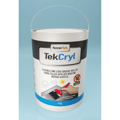 TekCryl Roofers Acrylic, Quick fix for leaky roofs