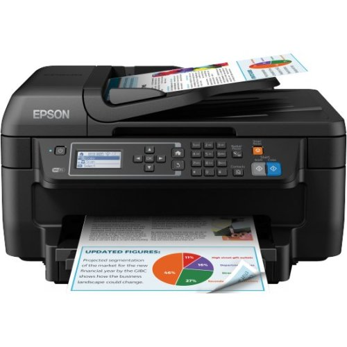 Epson WorkForce WF-2750DWF 4800 x 1200DPI Inkjet A4 33ppm Wi-Fi Black multifunctional