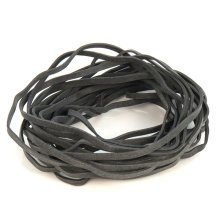 460 Strong Black Rubber Elastic Bands Stationery Office Craft School Hangerworld