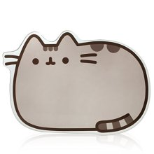 Thumbs Up Pusheen - Glass Worktop Saver, Grey -  pusheen saver glass cat worktop board