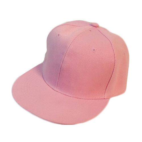 Pink Baseball Cap Fitted Caps Flat Cap Girls Fresh Young Bright Summer Beach