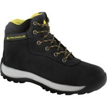 Delta Plus LH842 Nubuck Leather Hiker Safety Work Boots Black (Sizes 7-12)