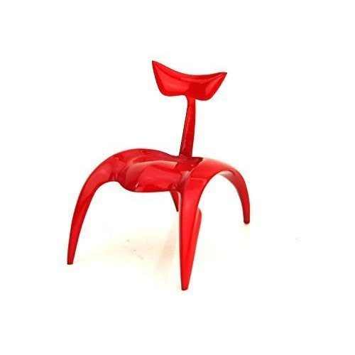 Take a Seat Racing Red Chair Resin Mint in Box