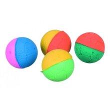 80 Soft Balls, Foam Rubber, Ø 4.3cm -